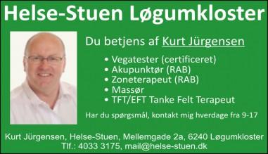 Om Helse-Stuen / Kurt Jürgensen